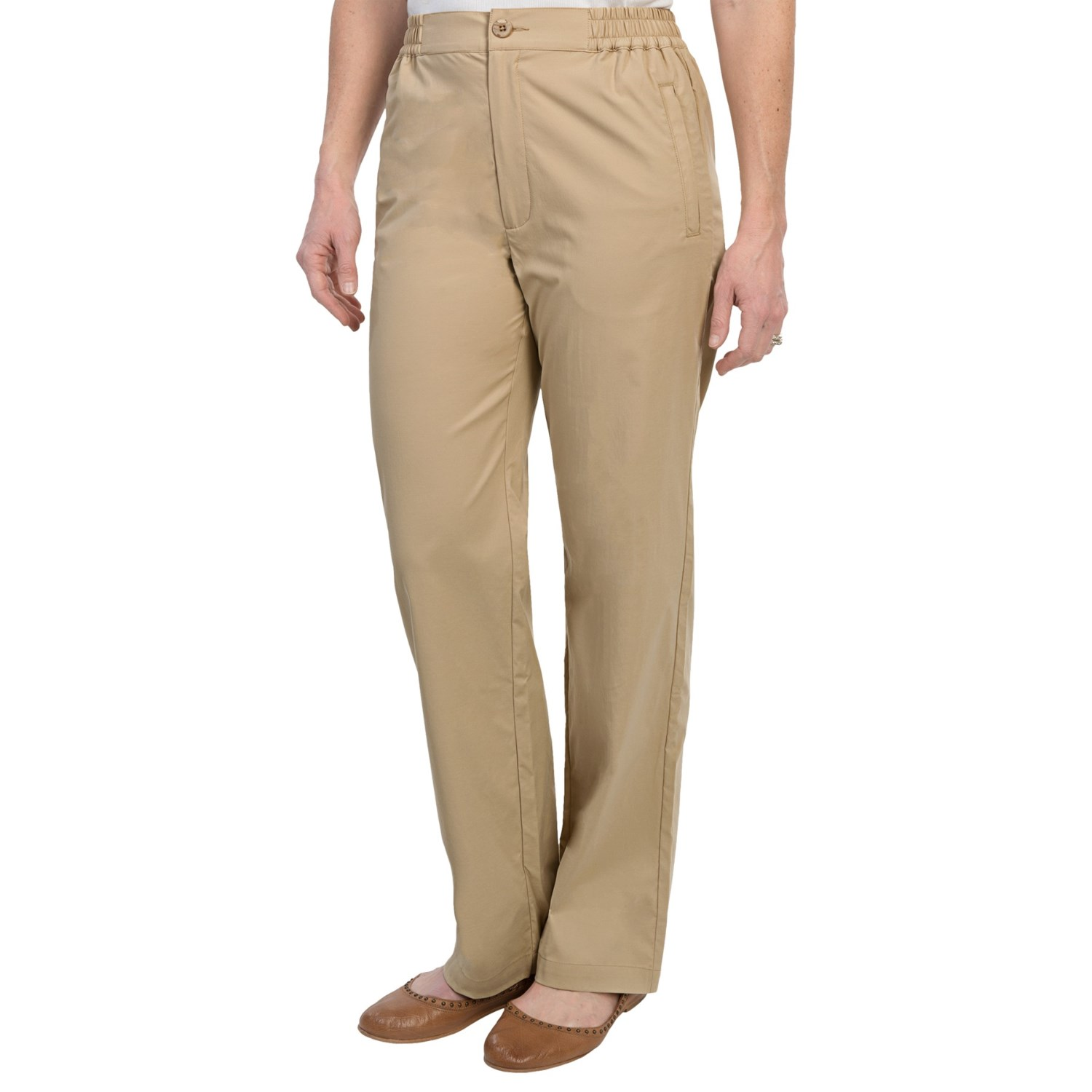 Awesome Alice  Olivia Suede Flare Pants In Brown TAN  Lyst