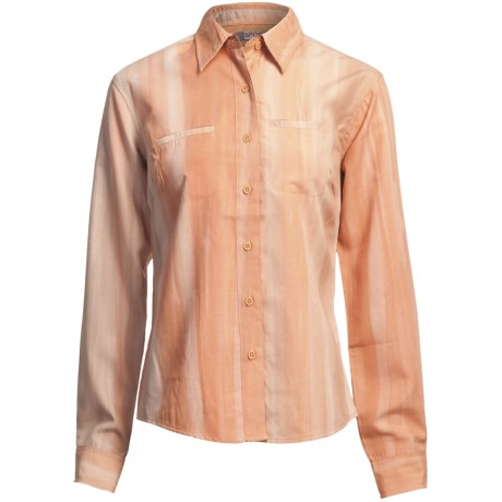 Sportif USA Plaid Shirt - Long Sleeve (For Women) in Ginger