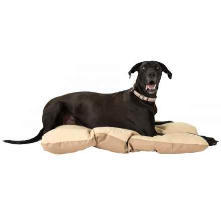 "Sporting Dog Solutions Pillow Dog Crate Mat - Large, 47x28"" in Brown - Closeouts"