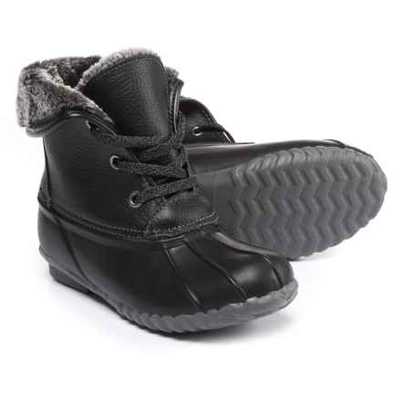 Sporto Diana Pac Boots - Waterproof, Insulated, Leather (For Women) in Black - Closeouts