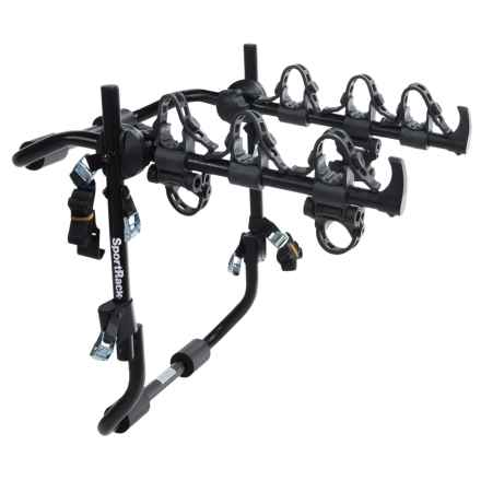 SportRack Frontier Expedition Deluxe 3-Bike Rack in Black - Closeouts