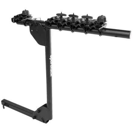SportRack Hitch-N-Drive Deluxe 5 Bike Hitch Mounted Bike Carrier in Black - Closeouts