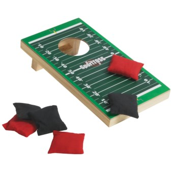 Sports Toss Desktop Game in Football
