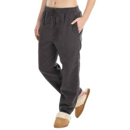 Sportswear by E.D.B. Microfleece Pants (For Women) in Dark Grey - Closeouts