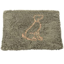 """Spot Clean Paws Dog Mat - 31x20"""" in Sage - Closeouts"""