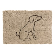 """Spot Clean Paws Dog Mat - 31x20"""" in Tan - Closeouts"""