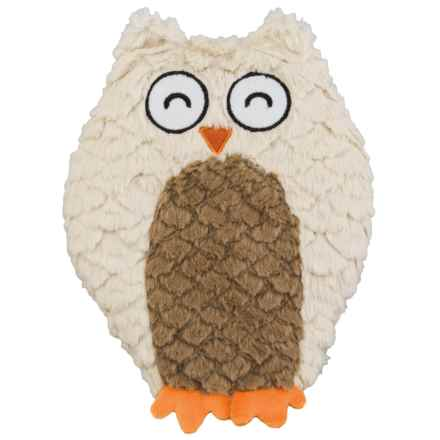 Spot Soft Swirl Plush Owl Dog Toy - Crinkle Lining in See Photo - Closeouts