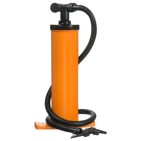 SPRI Power Air Pump in Orange