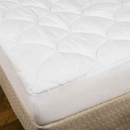 Spring Air Big Maxx Stain-Release Mattress Pad - Twin in See Photo - Closeouts