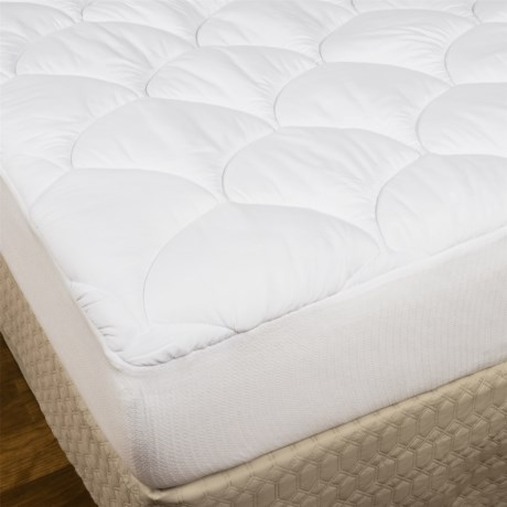 Spring Air Big Maxx Stain-Release Mattress Pad - Twin in See Photo