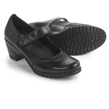 Spring Step Artyom Mary Jane Shoes - Leather (For Women) in Black - Closeouts