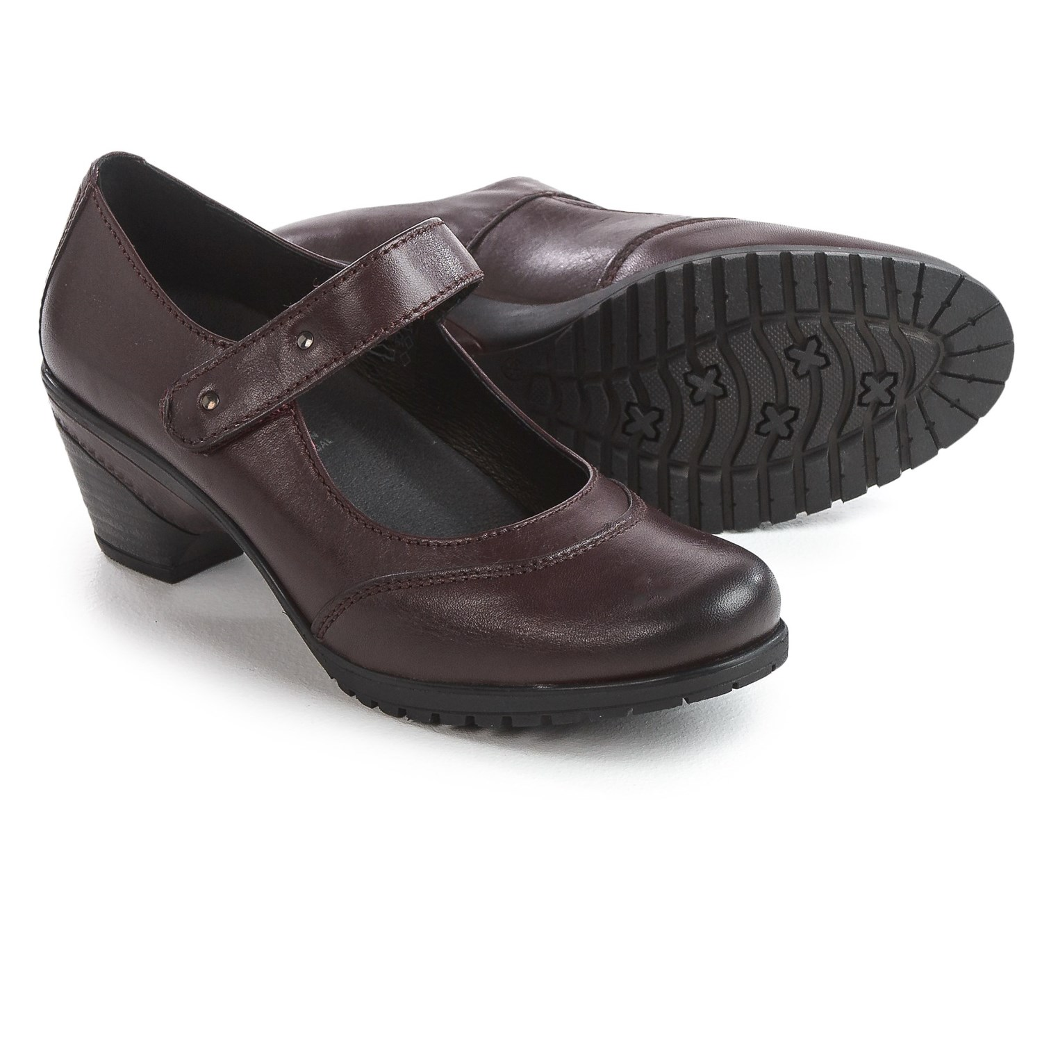 Spring Step Artyom Mary Jane Shoes - Leather (For Women) in Bordeaux