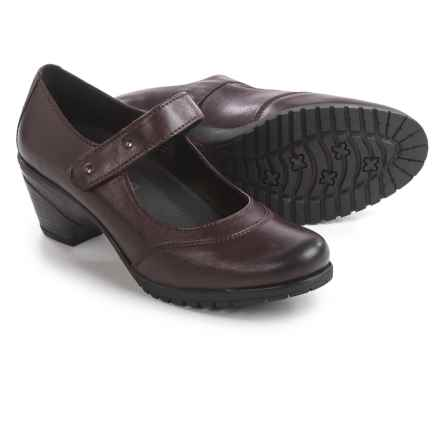Spring Step Artyom Mary Jane Shoes - Leather (For Women) in Bordeaux - Closeouts