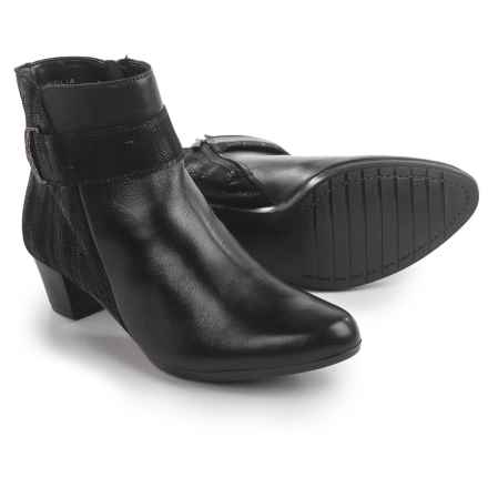 Spring Step Malvolia Boots - Leather (For Women) in Black - Closeouts