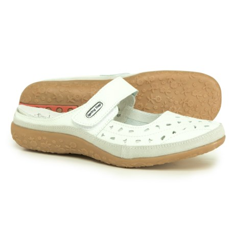 Spring Step Tsunami Clogs - Leather (For Women) in White