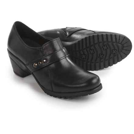 Spring Step Yejide Shoes - Leather, Slip-Ons (For Women) in Black - Closeouts