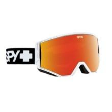 Spy Optics Ace Ski Goggles - Quick Draw Lens Change in Matte White/Bronze W/Red Spectra/Blue - Closeouts