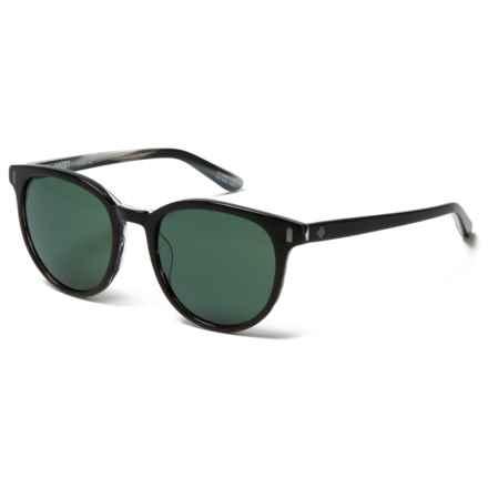 Spy Optics Alcatraz Sunglasses in Black/Horn/Happy Gray Green - Closeouts