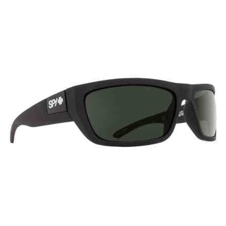 Spy Optics Dega Sunglasses in Matte Black/Happy Gray Green - Closeouts