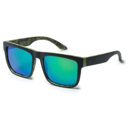 Spy Optics Discord Sunglasses in Kush Walls/Gray/Green Spectra - Closeouts