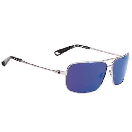 Spy Optics Leo Sunglasses in Gunmetal/Happy Bronze/Blue - Closeouts