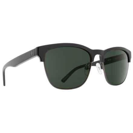 25514f60993 Spy Optics Loma Sunglasses (For Women) in Black Matte Gunmetal Happy Gray