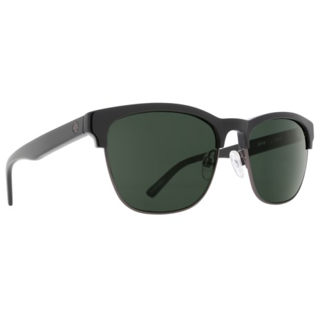 834622a7058 Spy Optics Loma Sunglasses (For Women) in Black Matte Gunmetal Happy Gray
