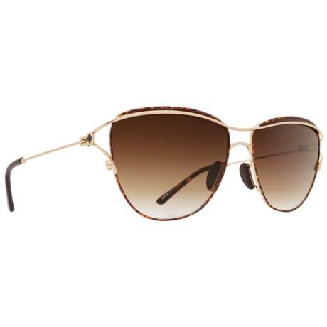 b00e814b6ebb6 Spy Optics Marina Sunglasses (For Women) in Gold Tortoise Happy Bronze Fade