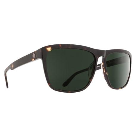Spy Optics Neptune Sunglasses in Dark Tortoise/Happy Gray Green