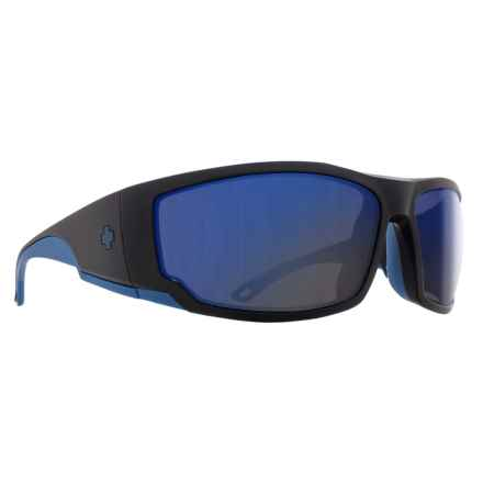 Spy Optics Tackle Sunglasses - Polarized in Matte Black/Navy/Happy Bronze/Dark Blue Spectra - Closeouts