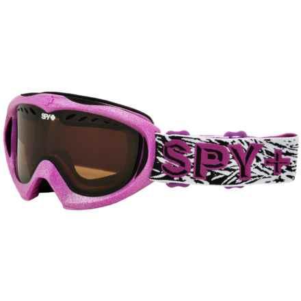 Spy Optics Targa Mini Ski Goggles (For Kids) in Wild Thing/Bronze - Closeouts