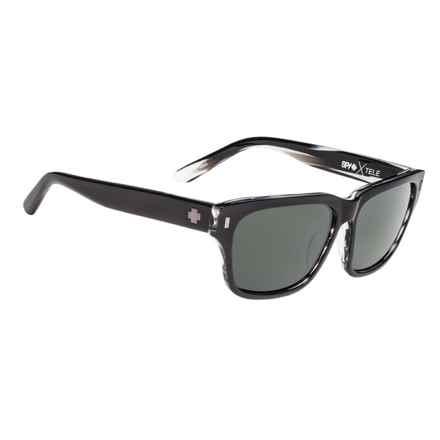 Spy Optics Tele Sunglasses in Black/Horn/Happy Gray Green - Closeouts