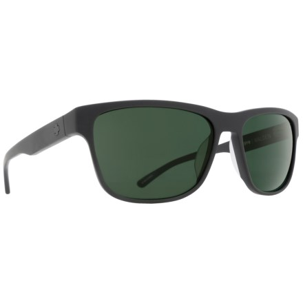 eec64bcd0eda Spy Optics Walden Sunglasses - Polarized (For Men) in Matte Black Happy Gray