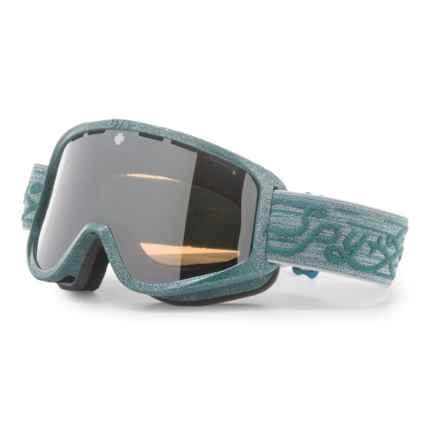 Spy Optics Woot Ski Goggles - Mirror Lens in Pixie Green/Mirror - Closeouts