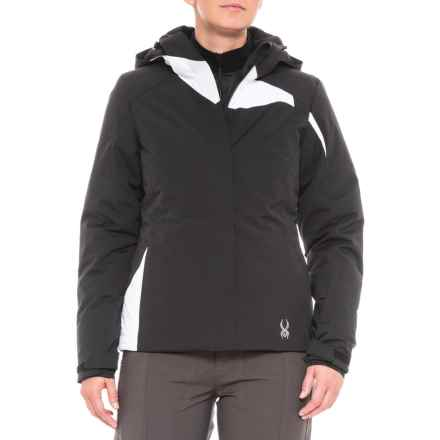 Spyder Amp Ski Jacket - Insulated (For Women) in Black/White - Closeouts