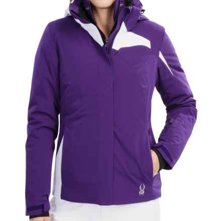 Spyder Amp Ski Jacket - Insulated (For Women) in Regal/White - Closeouts