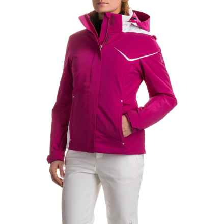 Spyder Amp Ski Jacket - Waterproof, Insulated (For Women) in Wild/White - Closeouts