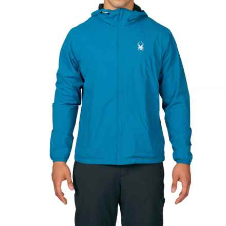 Spyder Anti-Panic Ski Jacket - Waterproof (For Men) in Concept Blue - Closeouts