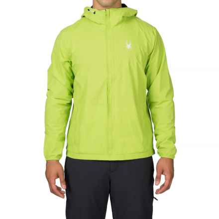 Spyder Anti-Panic Ski Jacket - Waterproof (For Men) in Theory Green - Closeouts