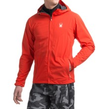 Spyder Anti-Panic Ski Jacket - Waterproof (For Men) in Volcano - Closeouts