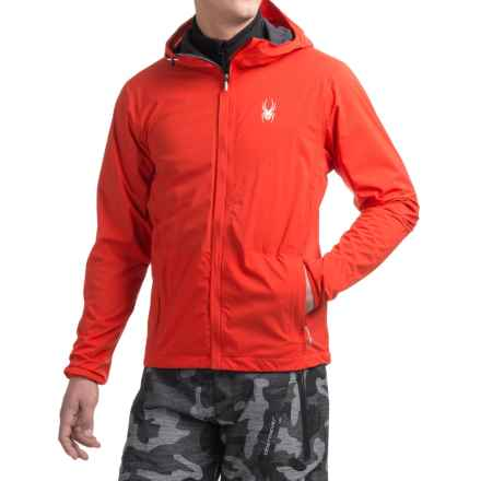 Spyder Anti-Panic Ski Jacket - Waterproof (For Men) in Volcano - Closeouts