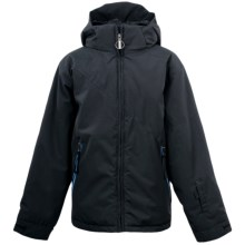 Spyder Armageddon Jacket - Insulated (For Boys) in Black/Black/Coast - Closeouts