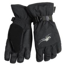 Spyder Basin Gore-Tex® Ski Gloves - Waterproof, Insulated (For Men) in Black - Closeouts