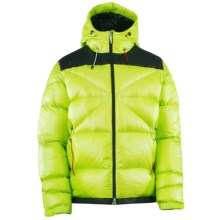 Spyder Bernese Down Jacket - 700 Fill Power (For Men) in Sharp Lime/Black/Volcano - Closeouts