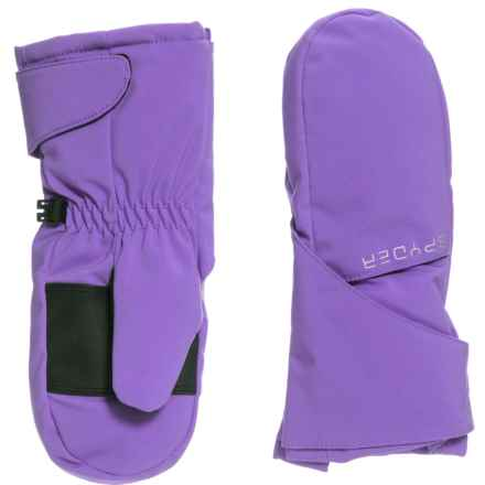 Spyder Bitsy Cubby Ski Mittens - Waterproof, Insulated (For Little Girls) in Iris - Closeouts