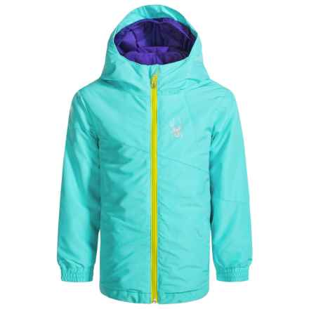Spyder Bitsy Reckon 321 3-in1 Jacket - Insulated (For Little Girls) in Freeze - Closeouts