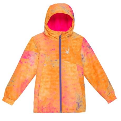 Spyder Bitsy Reckon 321 3-in1 Jacket - Insulated (For Little Girls) in Morning Sky Bryte B/Gum/Print