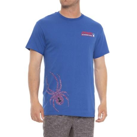 Spyder Bold Graphic T-Shirt - Short Sleeve (For Men) in Limoges
