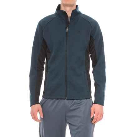 Spyder Bonded Fleece Sweater - Zip Front (For Men) in Frontier Navy - Closeouts
