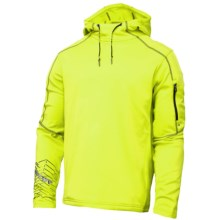 Spyder Boosted Microfleece Hoodie (For Men) in Acid/Osetra - Closeouts